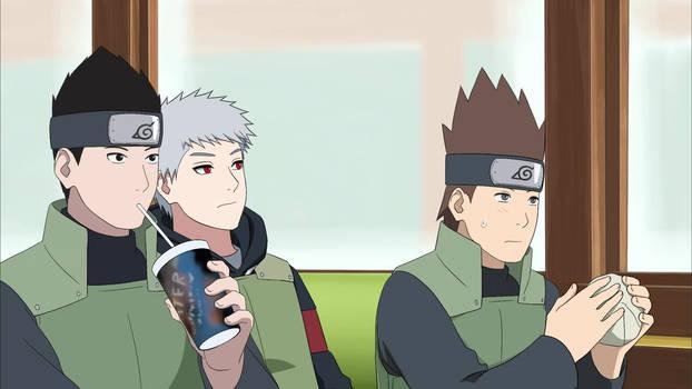 Ken anime test scene 07