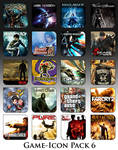 Game Aicon Pack 6