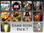 Game Aicon Pack 7