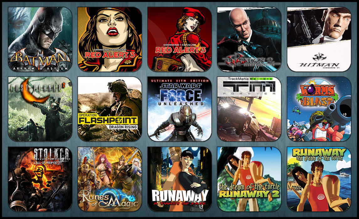 Game Aicon Pack 28 by HarryBana