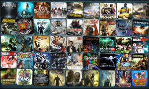 Game Aicon Pack 47 by HarryBana