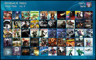 Windows 8 Metro Aicon Pack 4 by HarryBana