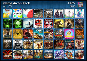Game Aicon Pack 105