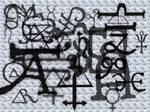 Alchemical marks-gimp version