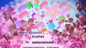 cherry blossom brushes