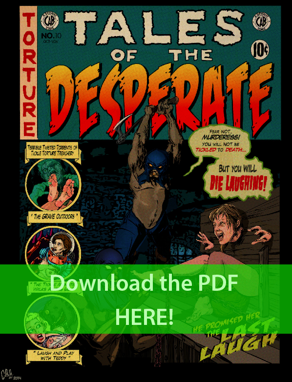 Tales of the Desperate ~ Second Full Issue PDF by CeeAyBee