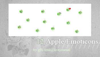Apple Emoticons