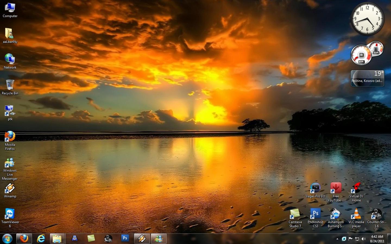 Nature theme for Windows 7 by aaLbanNy on DeviantArt # Sunshower Ogen_002900