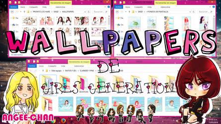 WALLPAPERS DE GIRLS GENERATION+FONDOS DE PANTALLA by ANGEE-CHANN