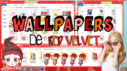 WALLPAPERS DE RED VELVET+FONDOS DE PANTALLA by ANGEE-CHANN