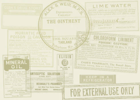 Antique Labels I