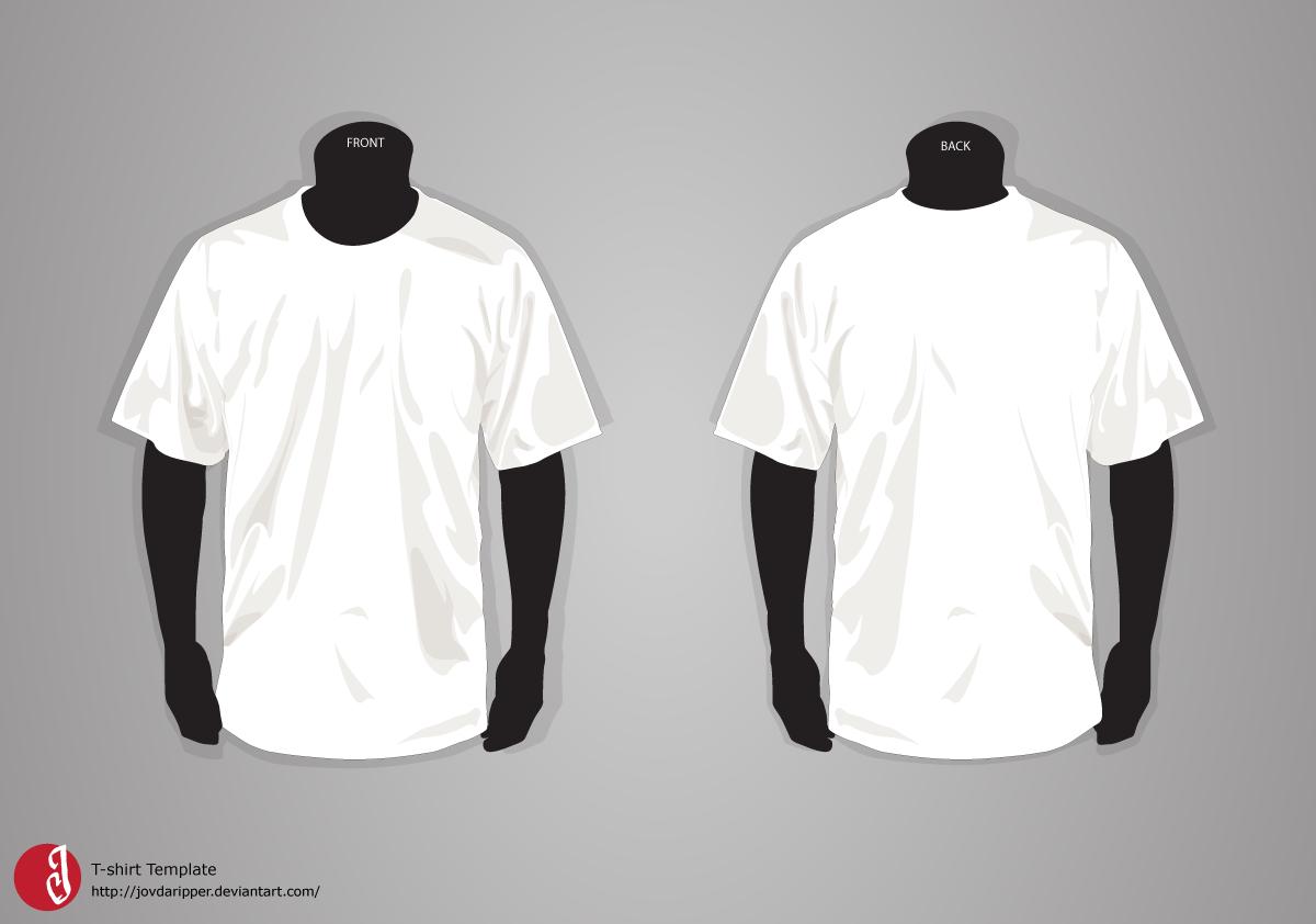 T-shirt Template UPDATE by JovDaRipper