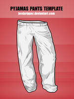 Pyjamas Pants Template by JovDaRipper