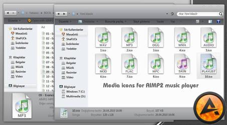 Aimp2 Leopard icons