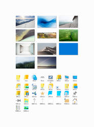 Windows10 Build 9926 icons and wallpapers