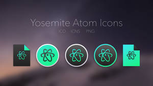 Yosemite Atom Icon