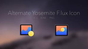 Alternate Yosemite F.lux icon