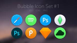 Bubble Icon Set #1