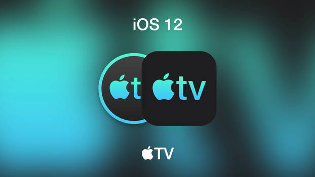 NEW iOS 12 Apple TV Icon (with macOS icon)