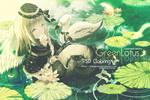 Green Lotus PSD Coloring