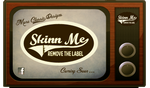Vintage Advertising for SkinnMe Designs by Sean-Kelly