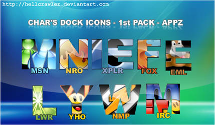 Chars Dock Icons - 1st Pack