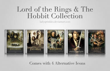 Lord of the Rings and The Hobbit Icon Collection by LadySprinkles