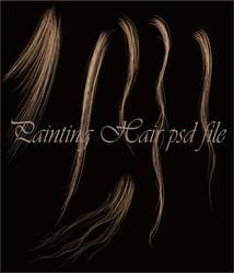 Hair stock psd file... by moonchild-ljilja