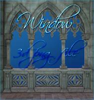 Window 3d png file by moonchild-ljilja