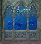 Window 3d png file