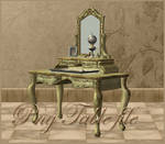 Mirror-Table 3d object