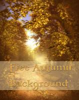 Autumn Background Free by moonchild-ljilja