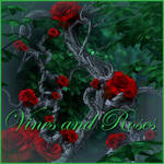Vines with roses