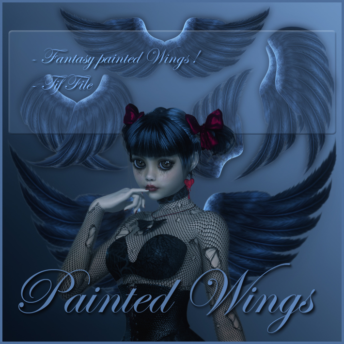 Painted Wings by moonchild-ljilja