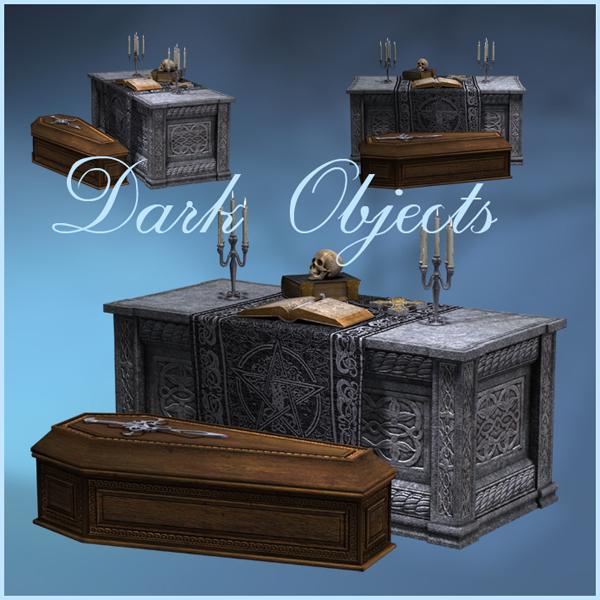 Dark Objects PNG by moonchild-ljilja