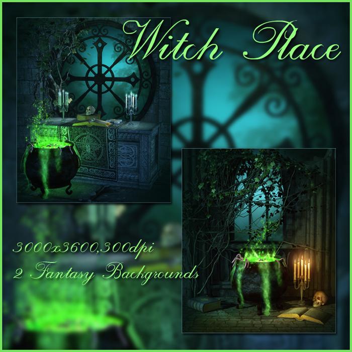 Witch Place backgrounds by moonchild-ljilja