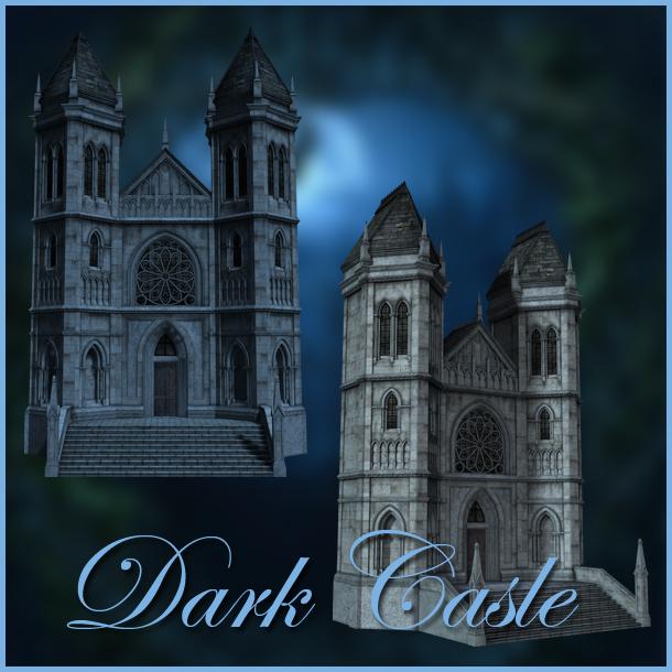Dark Castle png by moonchild-ljilja