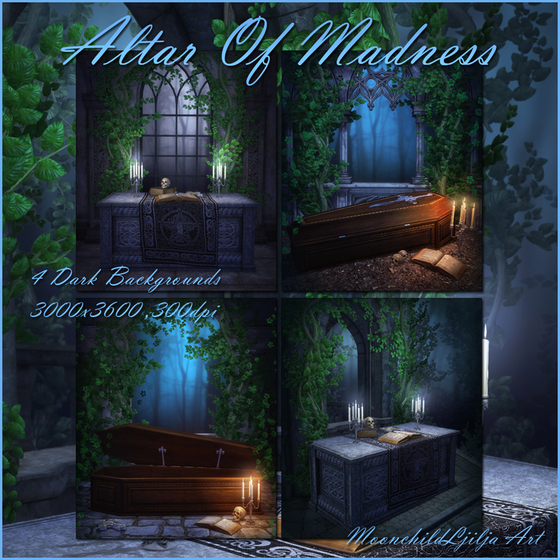 Altar of Madness backgrounds by moonchild-ljilja