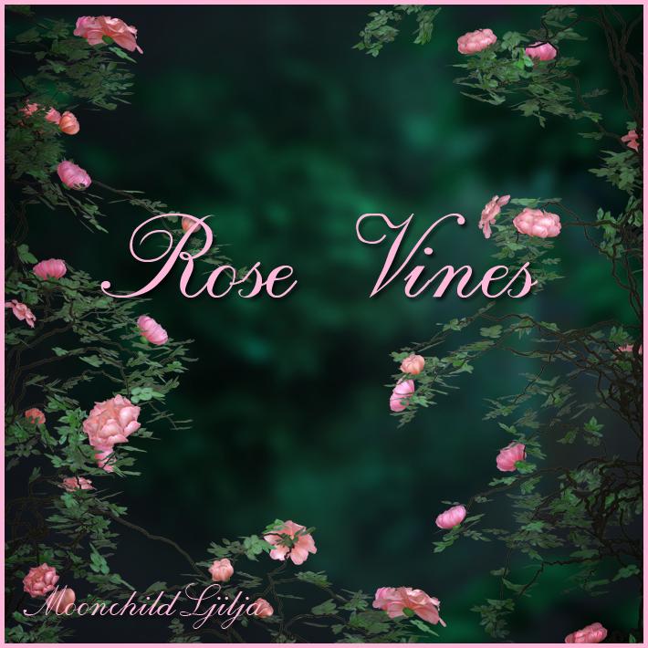 Rose Vines Png by moonchild-ljilja