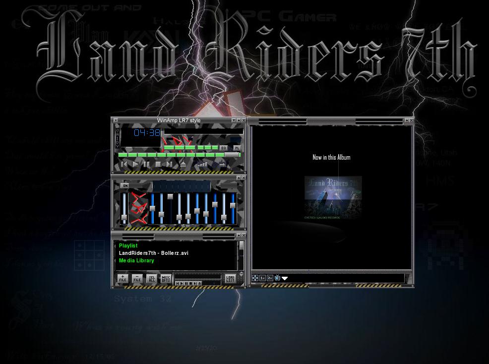 LR7style2008 VLC theme by LandRiders7th