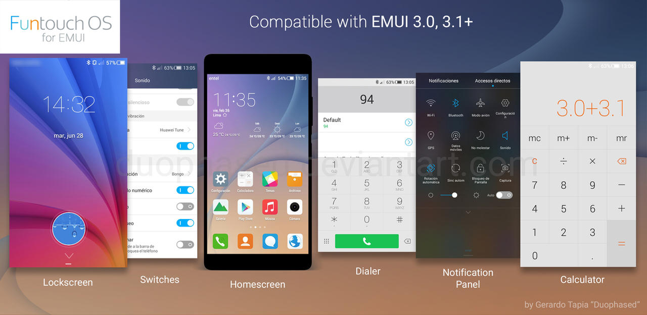 Funtouch OS Theme for EMUI by Duophased on DeviantArt