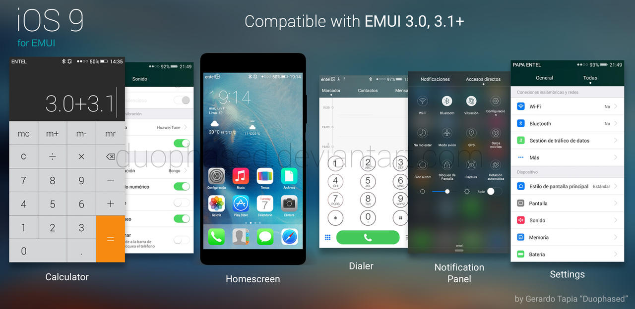 Line Art Emui : Ios theme for emui by duophased on deviantart