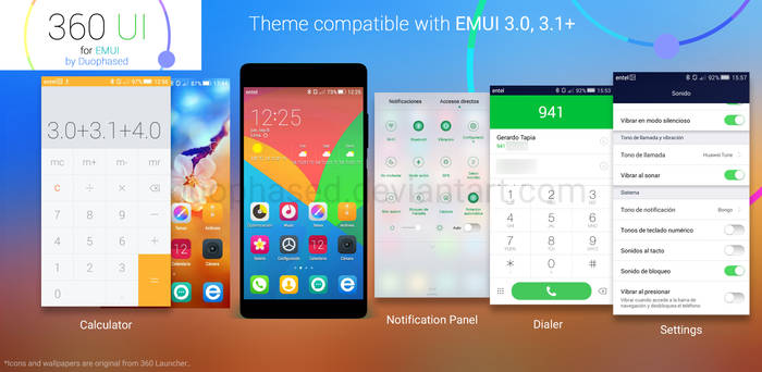 360 UI -EMUI Theme-