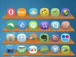 Droid icons meego style