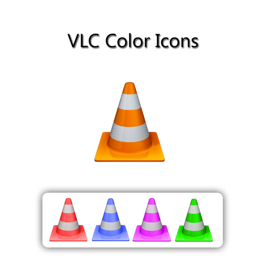 VLC Color Icons