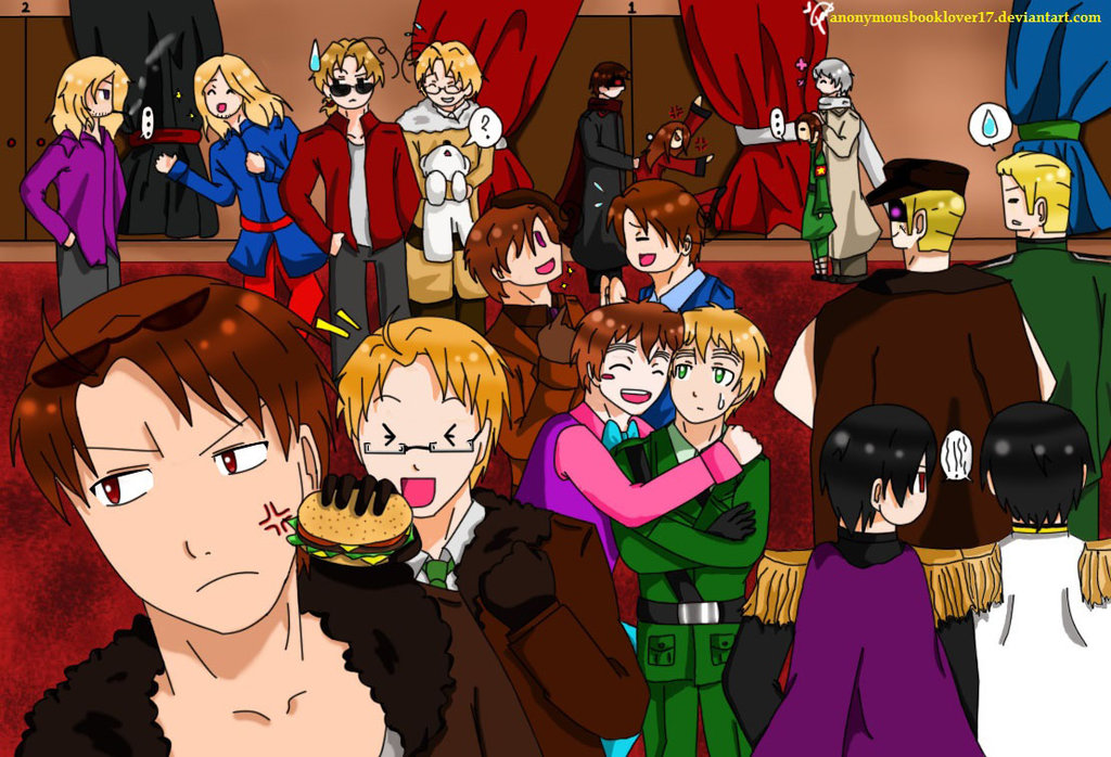 Two Worlds : 1-2 Hetalia X 1-2 Reader by CoonBuddy1 on
