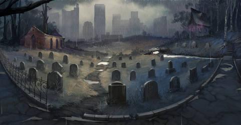 graveyard by Der-Reiko