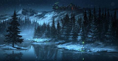 Silverlight lake (animation)