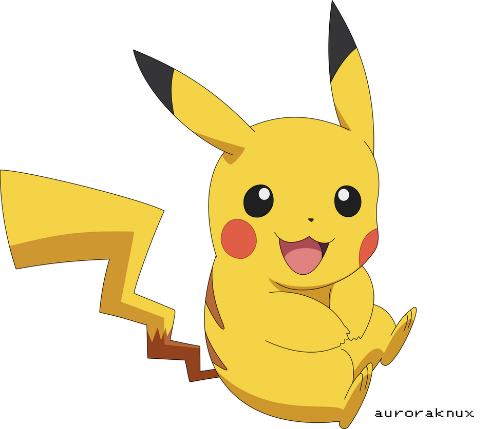 Pikachu Vector by Visigoth101