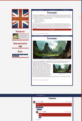 Blogspot template Great Britain